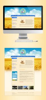 Корпоративный сайт Мирошник с каталогом продукции