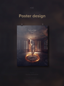Demon poster design