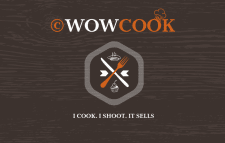 """Business Card - """"Wow Cook"""""""