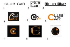 Лого для сервиса такси ClubCar
