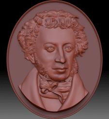 Создание 3Д модели портрета для изготовления печат