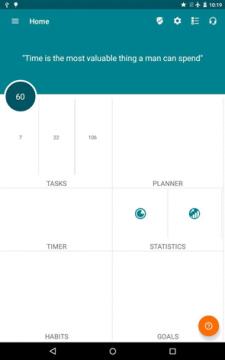 Универсальное приложение для управления временем