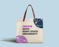 Дизайн фирменных сумок для университета