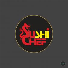Логотип для суши-бара SuSceff