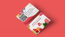 Дизайн визитки для компании