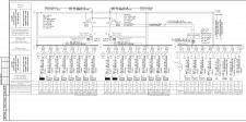 Однолинейная расчётная схема ВРУ