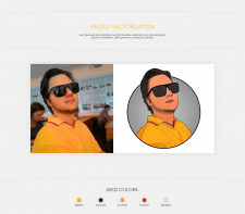 Photo vectorization