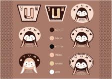 Логотипы для бренда YUM