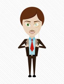 Персонаж для юридического сайта