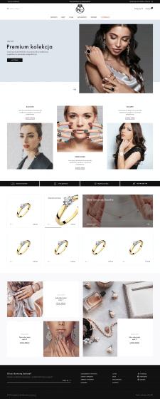 Интернет магазин для магазина с золотыми украшения