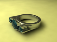 """Дизайн кольца """"Мушля3"""""""