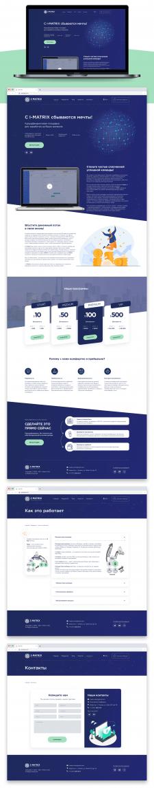 Дизайн сайта I-Matrix