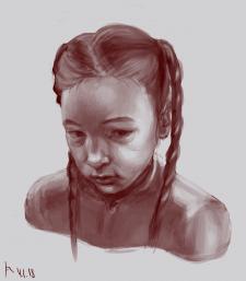 Портрет дівчинки