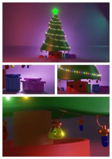 New Year 2021. Разработка 3D-иллюстрации в Blender