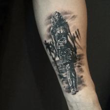 Тату Шери Мун Зомби tattoo Sheri Moon Zombie