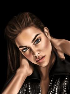 Иллюстрирований портрет