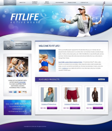 онлайн магазин спортивной одежды под ключ