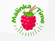 лого malinka time