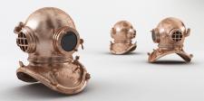 Моделирование и визуализация водолазного шлема
