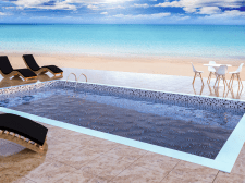 Pool modeling and visualization