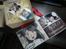Love-story комикс (подарок на свадьбу)