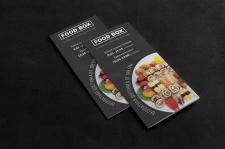 Буклет для службы доставки еды