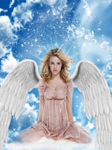 Коллаж Ангел