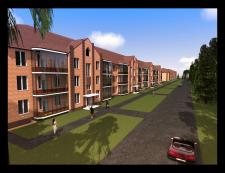 Проектирование 3х этажного жилого дома. г.Екатерин