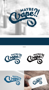 Дизайн логотипа для вейп компании