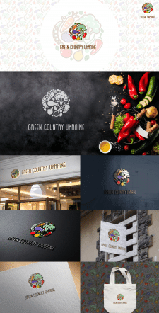 лого для магазина здорового питания