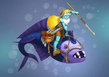 dofus_art бессмертный рыбак