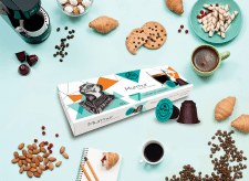 Got Shot MurMur Coffee Capsules Box Design