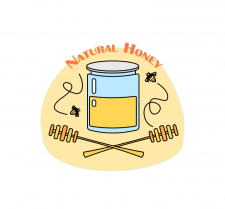 "Логотип ""Натуральный мед"""