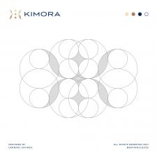 Luxury K Letter Logo Grid