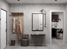 3D визуализация интерьер коридор