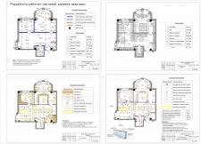 Разработка рабочего проекта дизайна квартиры