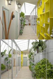 Частная квартира (коридор)