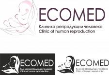 Вариант логотипа для клиники репродукции человека