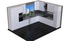 Простая визуализация кухни