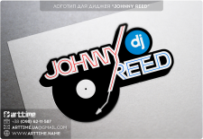 "Логотип для диджея ""Johnny Reed"""