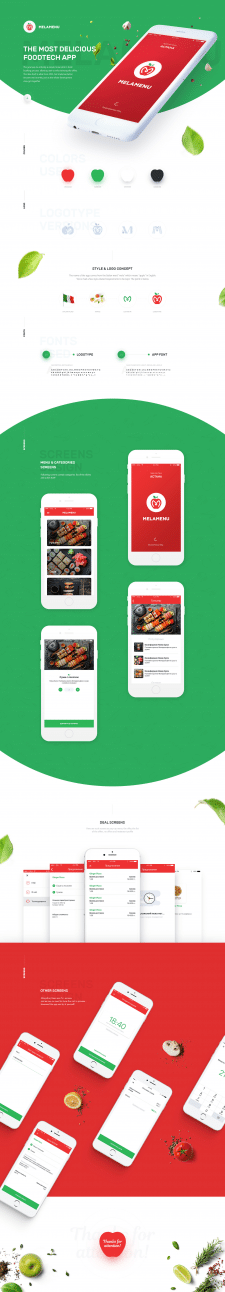 MelaMenu - foodtech app