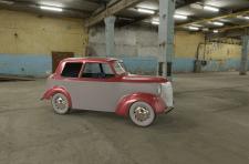 Визуализация машинки в 3ds Max
