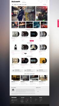 Интернет-магазин виниловых пластинок idealsounds