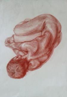 Рисунок оголеної натури