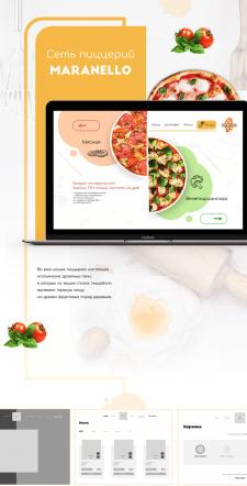 "Сайт для пиццерии ""Маранелло"""