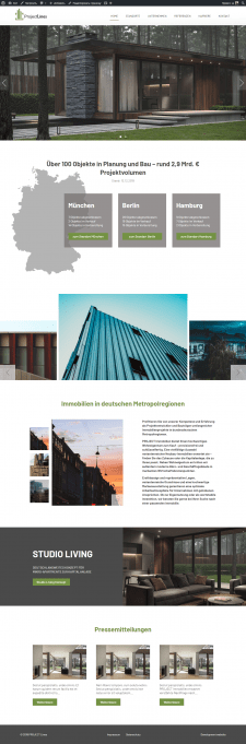 Hauptsitz PROJECT Immobilien Wohnen AG