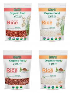 Упаковка для органических круп