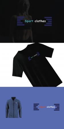 Логотип Sport clothes