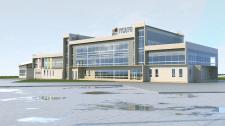 Визуализация промышленного здания