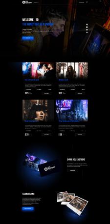 "Landing Page ""The MindTrap Nea Smirni"""